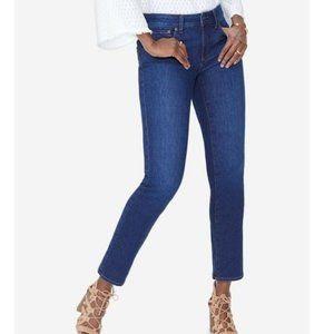NYDJ Tummy-Control Slim-Leg Jeans